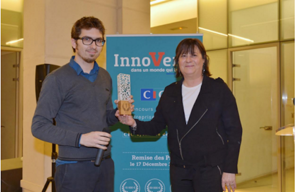 "Upfluence – First Place Finish in the CIC Contest ""Innovating in an Ever-Changing World"""