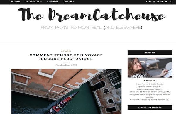 Interview The Dream Catcheuse