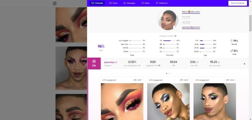 25 Beauty Instagram Micro-Influencers to Follow in 2019 - Beauty influencer Japanslayz
