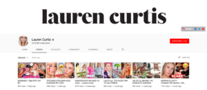Beauty Influencer Lauren Curtis Top Beauty YouTubers 2019