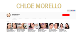 Beauty Influencer Chloe Morello Top Beauty YouTubers 2019