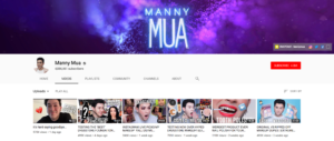Beauty Influencer Manny Mua Top Beauty Youtubers 2019