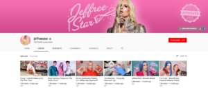 Beauty Influencer Jeffree Star Top Beauty YouTubers 2019