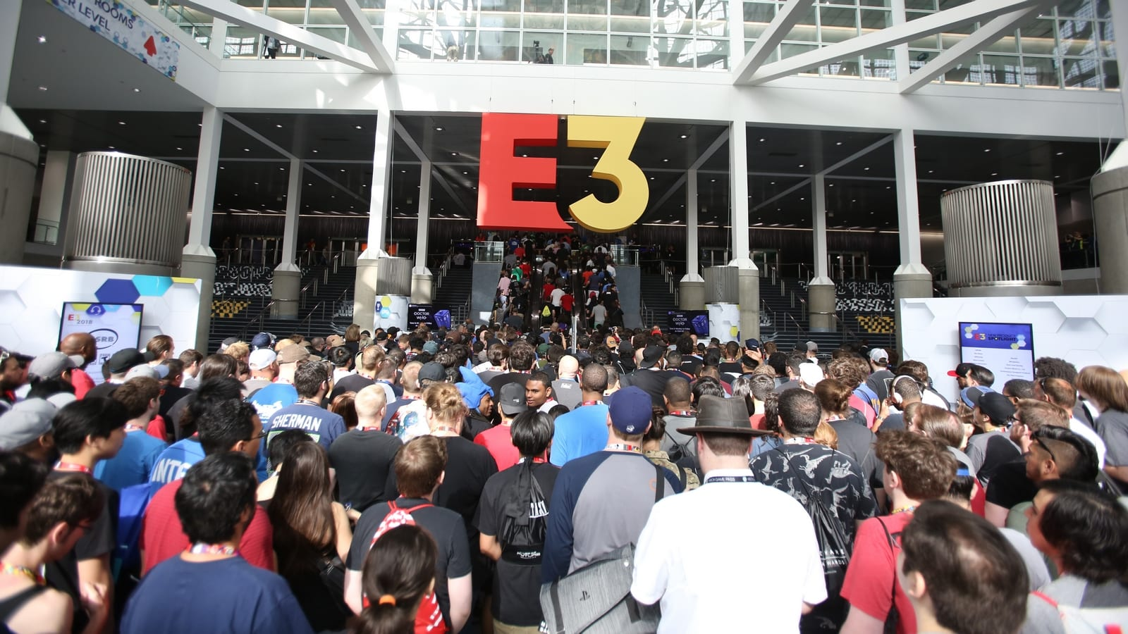 the annual E3 event takes place in person