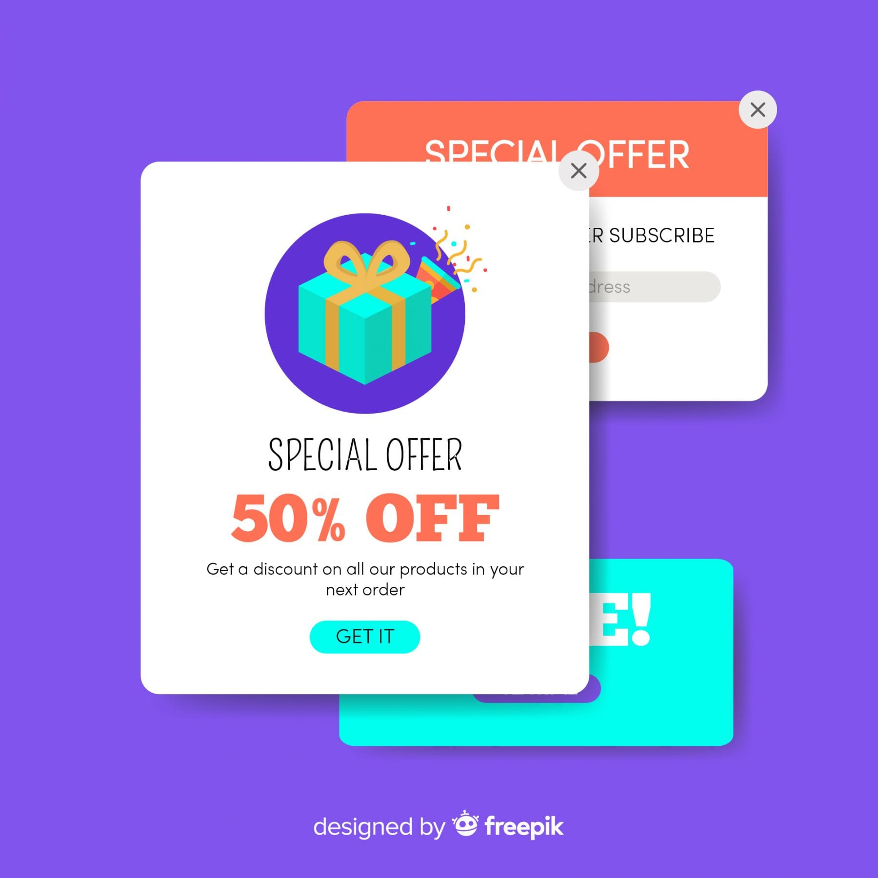 Website pop-ups: the key to design that converts