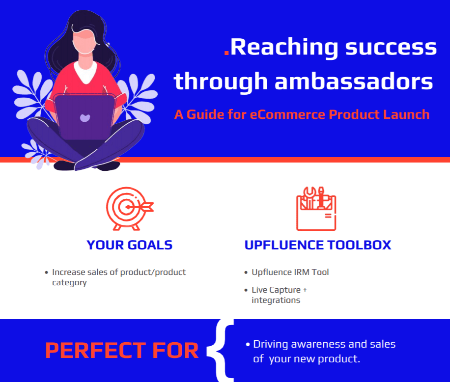 infographic about launching a new product online