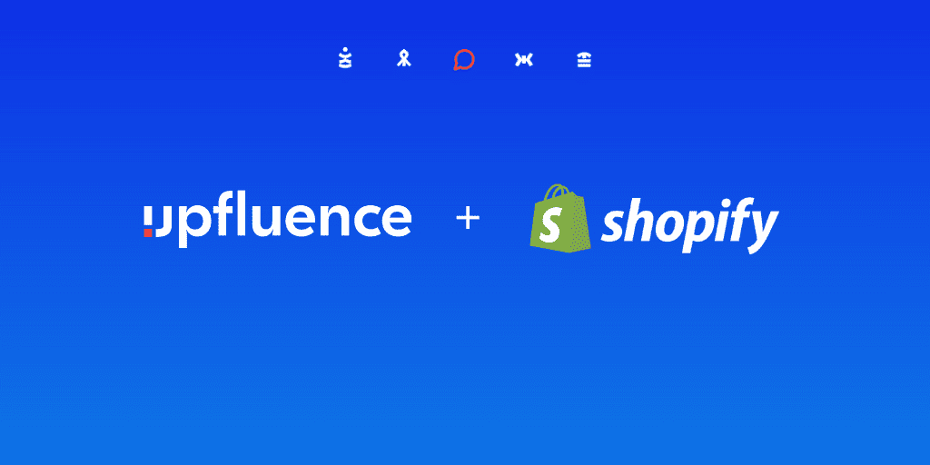 Read more about the article Upfluence Announces Integration with Shopify and Takes the Lead as the Most Powerful Influencer Marketing Tool in eCommerce