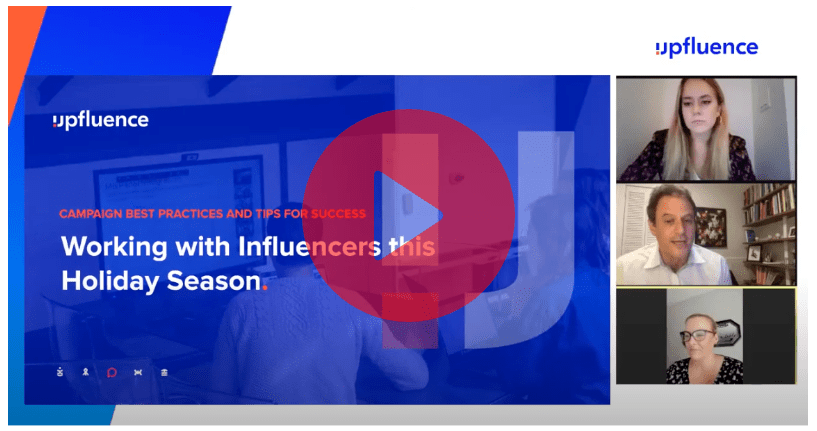 Thumbnail for Working with influencers this holiday season Webinar