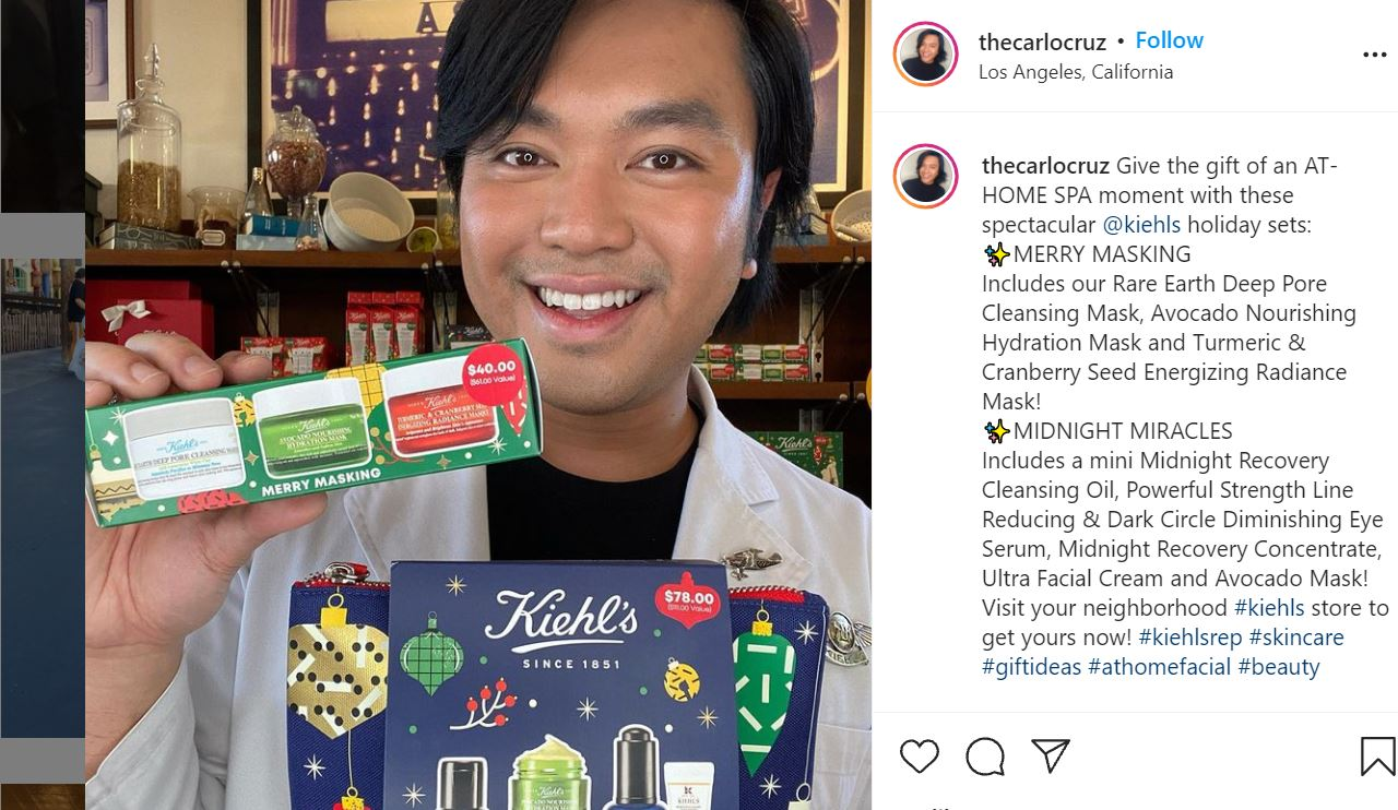 influencer holiday campaigns
