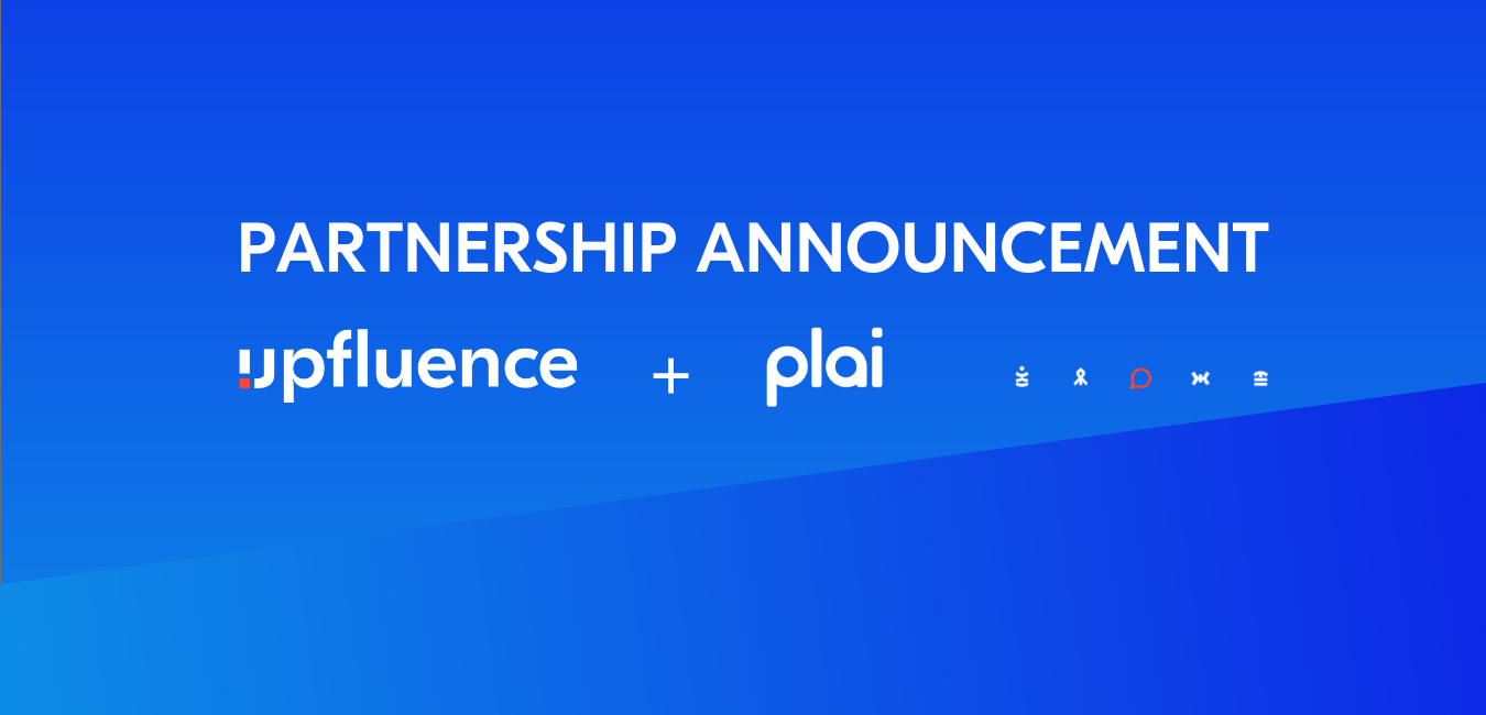 Read more about the article Leading Influencer Marketing Platform Upfluence to Power Influencer Discovery and Marketing for Plai