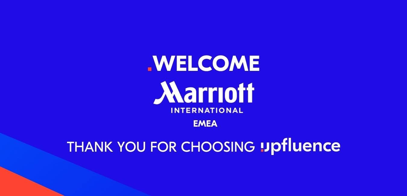 Read more about the article Marriott International in EMEA chooses Upfluence to power their influencer discovery, marketing, and global campaign tracking.